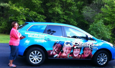 My new ride celebrates Sandals and Beaches resorts!