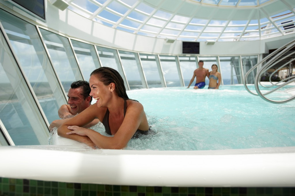 Oasis of the Seas Pool - Smiles and Miles Travel