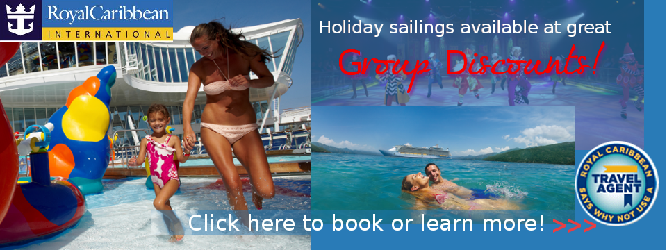 Royal Caribbean Holiday Cruise Specials!